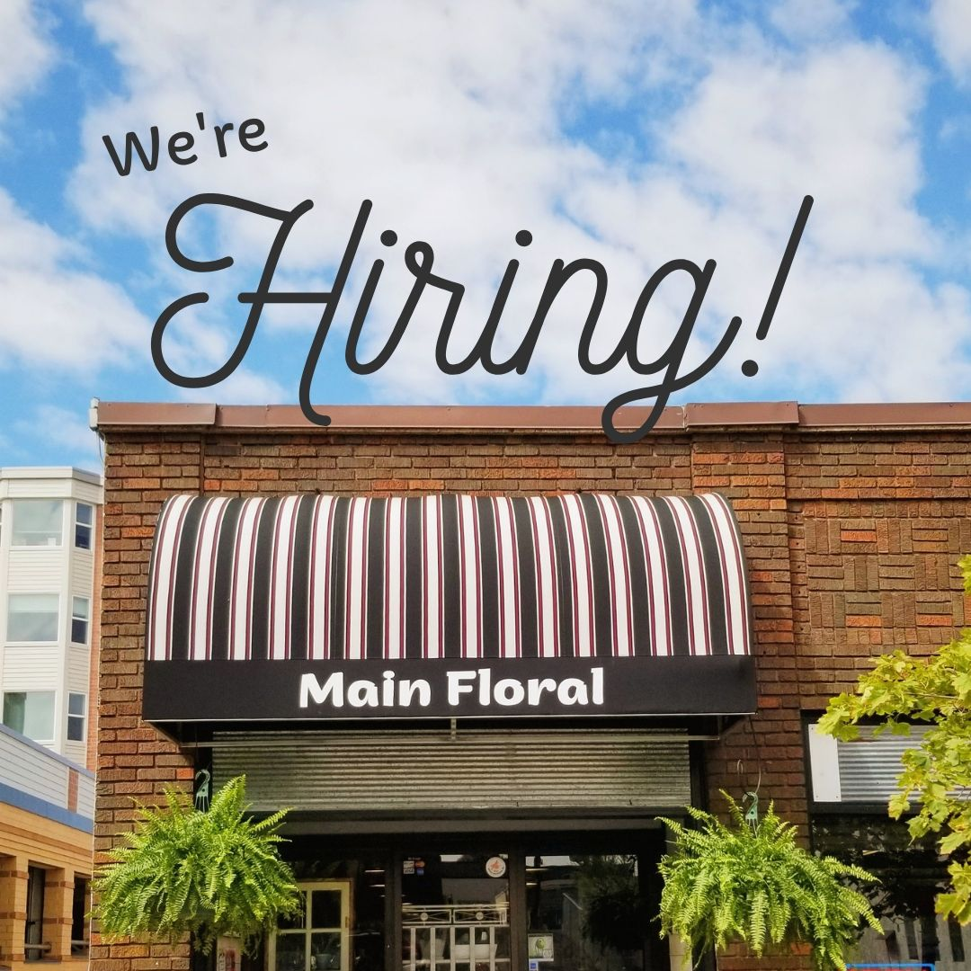 We're Hiring a Florist { Twin Cities Jobs }