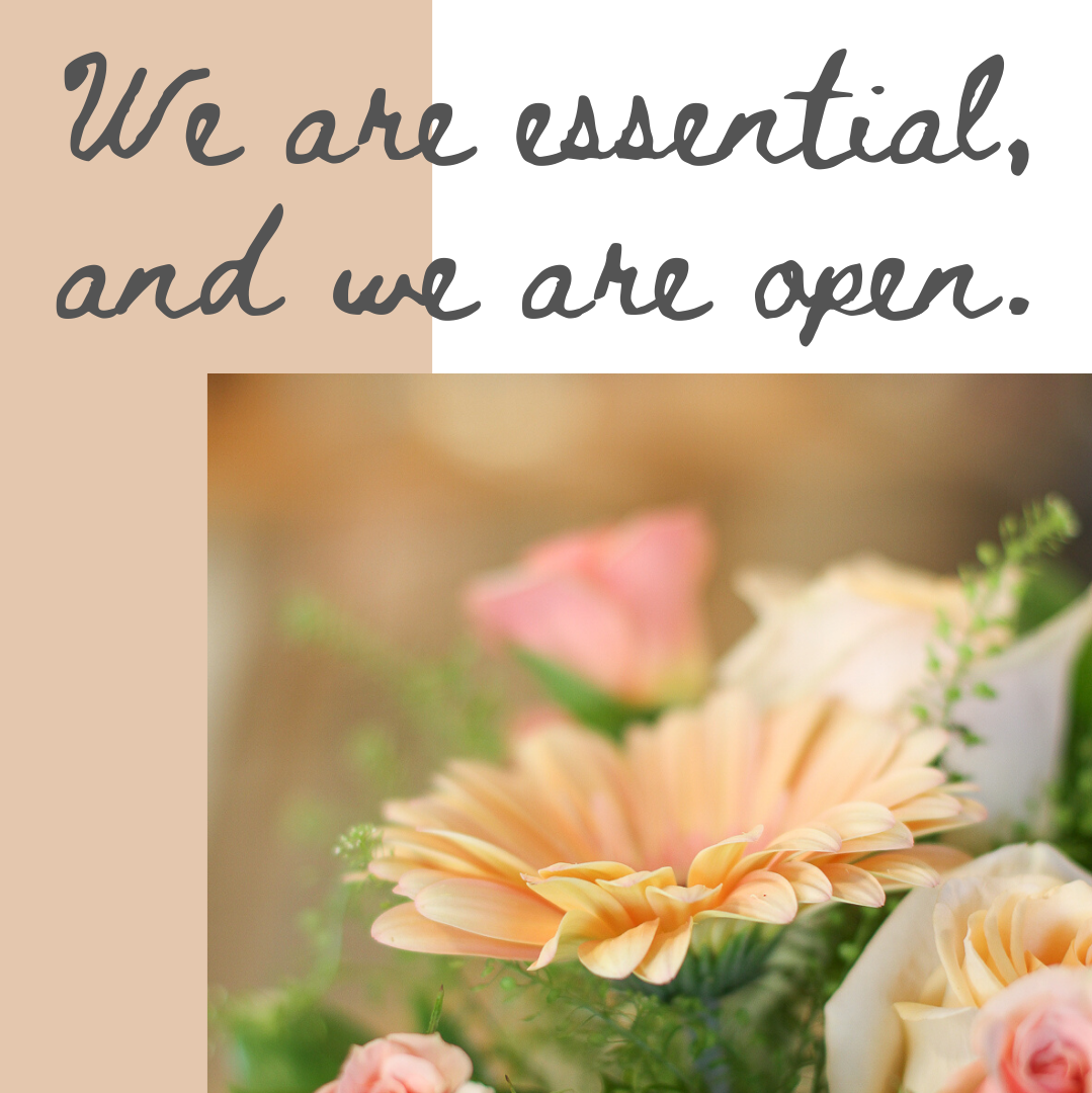 Another COVID Update { Twin Cities Florist Essential Business }